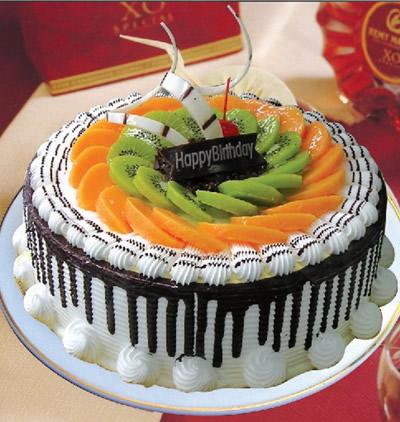 南京生日蛋糕:水果巧克力情