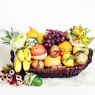 南京水果篮:香甜淡雅