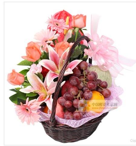水果篮:果篮・节日快乐