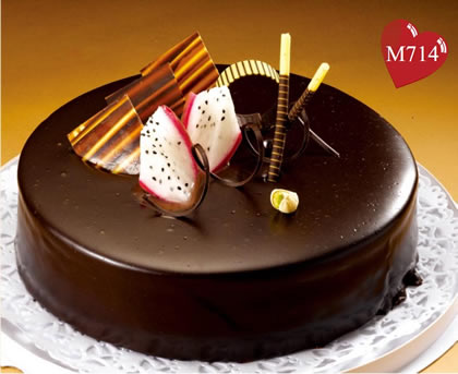 生日蛋糕:浓情