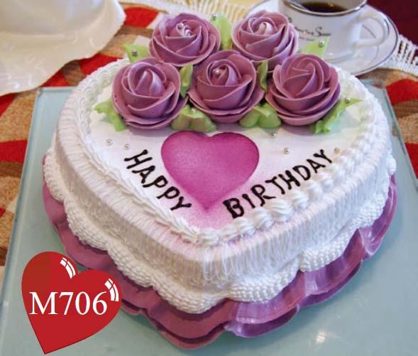 南京生日蛋糕:深深爱恋
