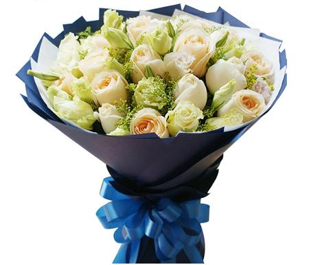 南京网上订花-香槟丽人