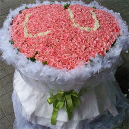 订鲜花-粉色情缘