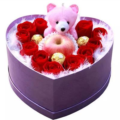 送鲜花-圣诞礼盒5