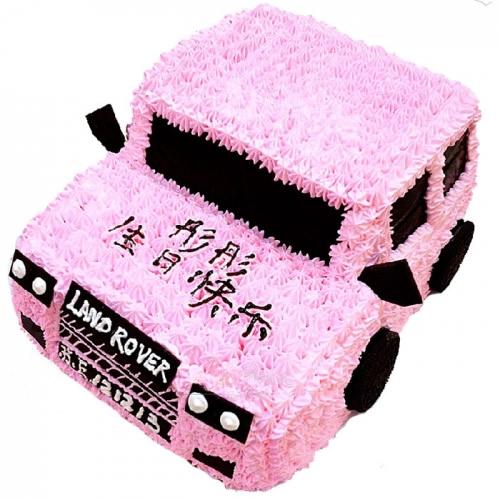 生日蛋糕:汽车达人