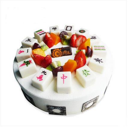 生日蛋糕:逢赌必胜