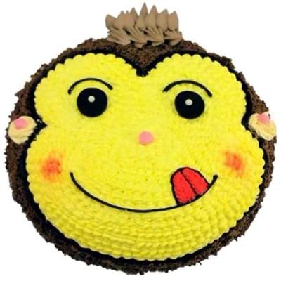 生日蛋糕:机灵小猴