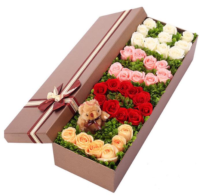 网上鲜花礼品店-love礼盒